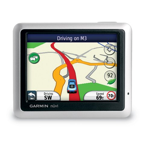 Автомобільний GPS навігатор Garmin Nuvi 1250 + карта України