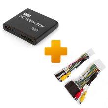Мультимедийный Full HD плеер и кабель подключения для мониторов Toyota Touch, Scion Bespoke - Краткое описание