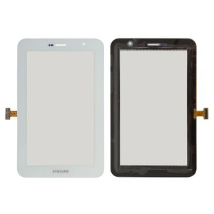Touchscreen for Samsung P6200 Galaxy Tab Plus Tablet, (white)