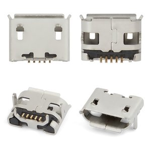 Charge Connector, (5 pin, micro USB type-B, type 2)