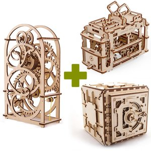 Mechanical 3D Puzzle UGEARS Premium Collection