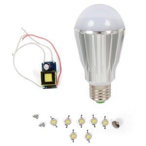 LED Light Bulb DIY Kit SQ-Q17 7 W (natural white, E27)