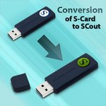 S-Card en SCout - Conversión