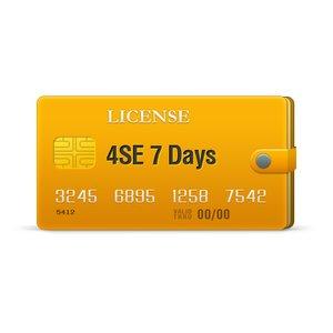 Licencia 4SE para 7 días