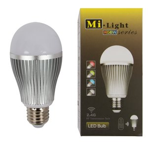 Lámpara LED  MiLight RGBW 9W E27 WW