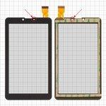"Сенсорный экран для Bravis NB751 3G; Nomi A07005 Astra 4GB, C07000 7"" 3G 8Gb, C07005 Cosmo 7'' 8Gb 3G, C07007 Polo, C07008 Sigma, C07009 Alma 7"" 3G; EvroMedia Play Pad 3G DUO; Uni Pad DR-UDM04A13QC; Mystery MID-713G; Roverpad 6.8""; Explay Hit; планшетов China, 6,8"", 184 мм, 104 мм, 30 pin, тип 2, с датчиком приближения, черный, #HS1275 V106/FM707101KD/370-A/YLD-CEG7069-FPC-AO/MDJ M706 FPC/FHF070076-B/YDT1273-A1/QCY 706 J/XHS0700401B/P031FN10869A"