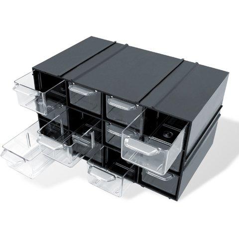 Касетниця для компонентів KON PX12 пластикова