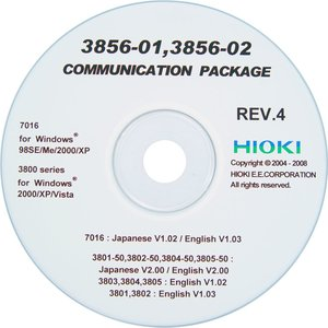 Програма синхронізації з комп'ютером HIOKI 3856-02