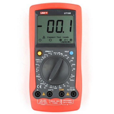 Цифровий автомобільний мультиметр UNI T UTM 1106 UT106