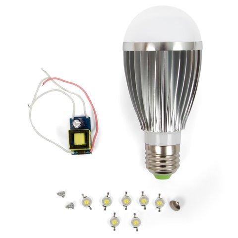 Комплект для збирання LED лампи SQ Q03 E27 7 Вт – холодний білий