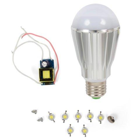 Комплект для збирання LED лампи SQ Q17 E27 7 Вт – теплий білий
