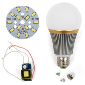 Комплект для збирання LED-лампи SQ-Q23 5730 E27 7 Вт – холодний білий