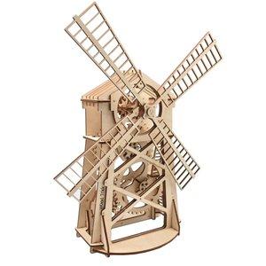 Механічний 3D-пазл Wood Trick Млин