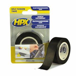 Стрічка вулканізуюча HPX 25мм, 3м черная (блістер)